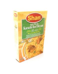 Shan Karachi Beef Biryani (Mix For Hot & Spicy Beef Pilaf) | Buy Online At The Asian Cookshop